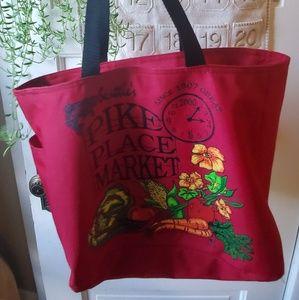 Handbags - Pike place market tote seattle, Washington